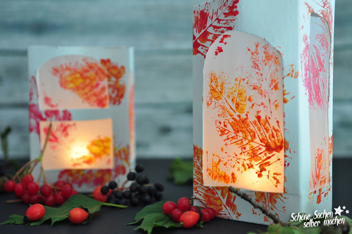 Upcycling Tetra Pack Windlicht